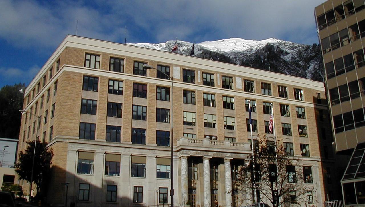 Alaska state capitol building wikimedia commons
