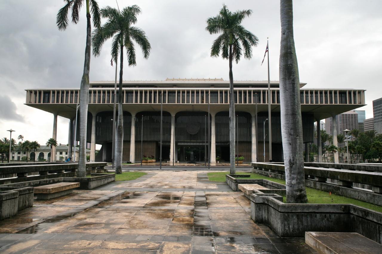 Hawaii_State_Capitol,_Honolulu wikimedia commons