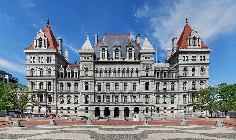 New York State Capitol wikimedia commons