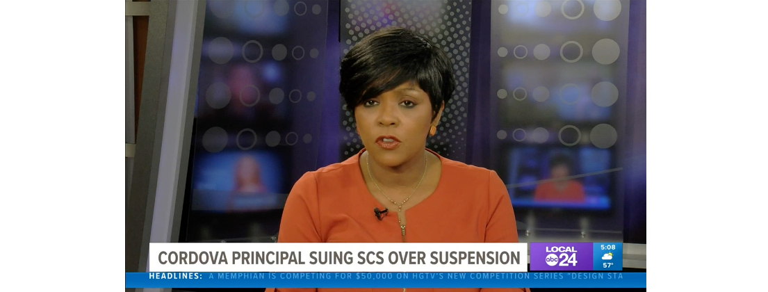 ABC Local24 Principal Thorne Sues SCS for free speech violation