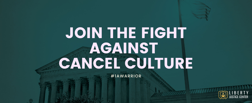 Join the Fight Against Cancel Culture