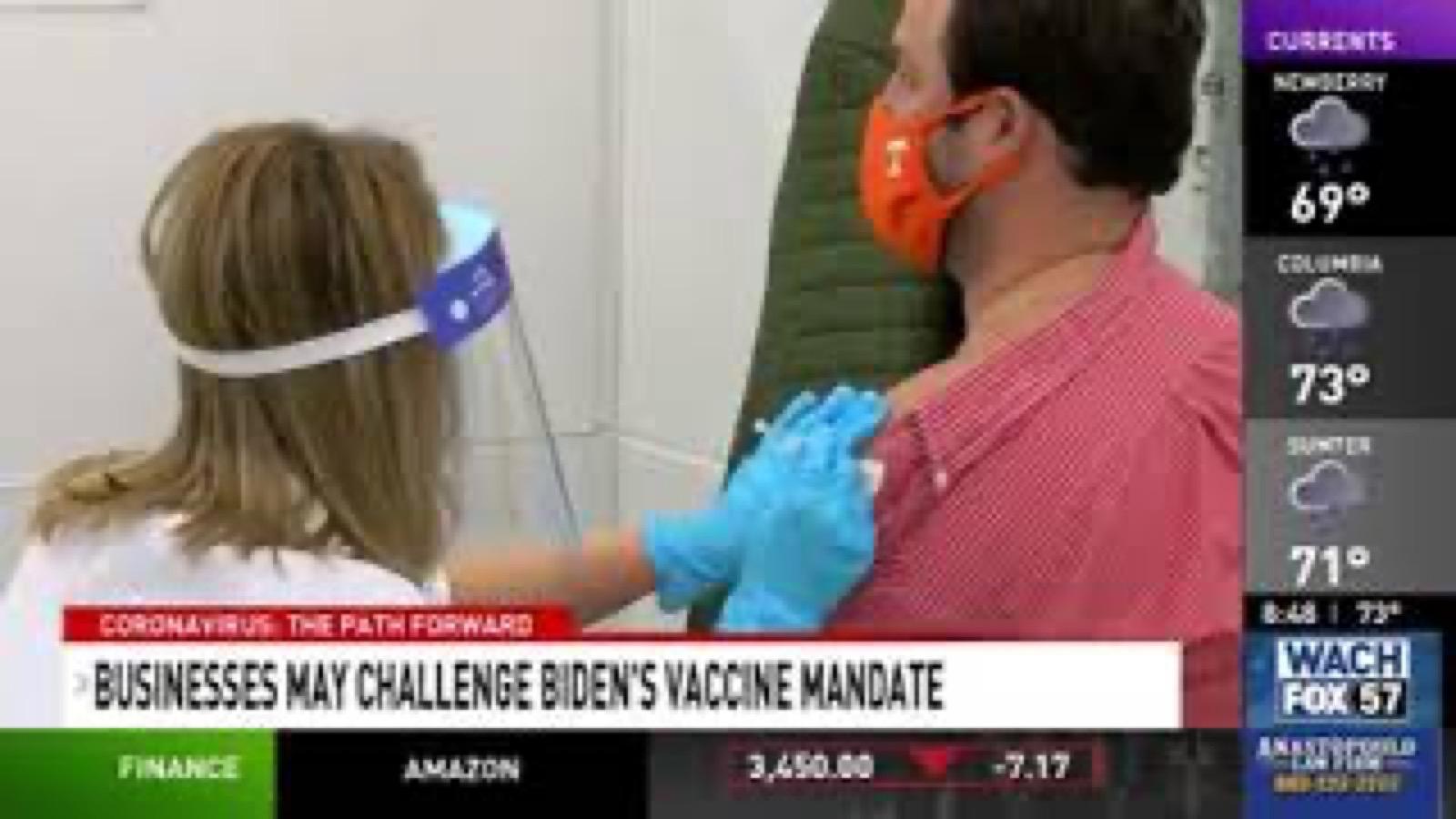 Businesses May Challenge Biden Vaccine Mandate